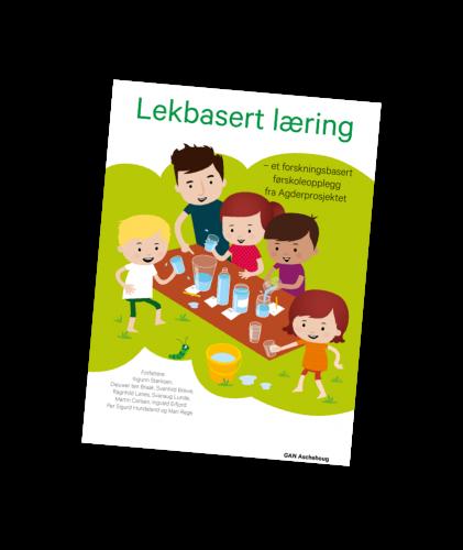 Forsiden til boka om Lekbasert Læring